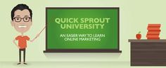 QuickSprout University: Easiest Way to Learn Online Marketing