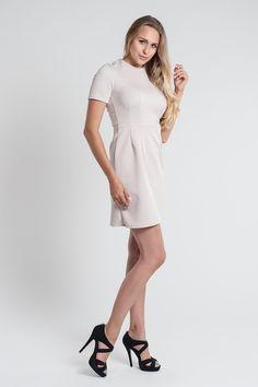 Sukienka SL2065C www.fajne-sukienki.pl Short Sleeve Dresses, Dresses With Sleeves, Shirt Dress, T Shirt, Fashion, Supreme T Shirt, Moda, Shirtdress, Tee Shirt