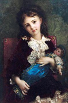 всегда так не будет - Дети в живописи Antoine Auguste Ernest Herbert - 1817-1908 French