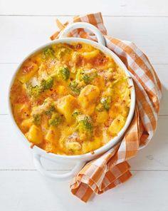 Kartoffel-Broccoli-Auflauf - [ESSEN UND TRINKEN]