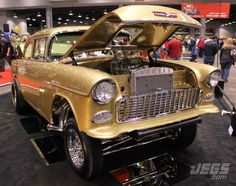 Thumbs up or down for this 1955 Chevy Gasser Show Car?