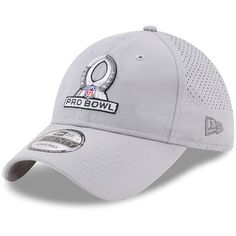 pretty nice 9440b 4ba0a Men s New Era Gray 2018 NFL Pro Bowl Perf Tone 9TWENTY Adjustable Hat