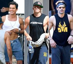Seriously sexy! Hollywood's hottest hunks are shedding their clothes once more for the sequel to stripping flick Magic Mike in Magic Mike XXL. From Channing Tatum to Matt Bomer and Joe Manganiello, click through to see the men of the upcoming flick take off their shirts --- and a whole lot more -- for the stripper sequel.