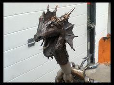 Lion Sculpture, Dragon, Statue, Art, Art Background, Dragons, Kunst, Sculpture, Sculptures