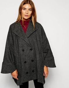 Cooper & Stollbrand Cape With Sleeves