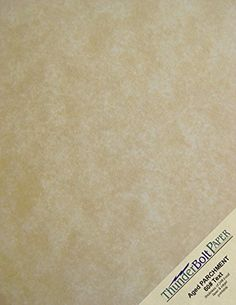 200 Old Age Parchment 60 Pound Text (=24 Pound Bond) Paper Sheets - 8 X 10 Inches Frame and Photo Size - 60 Pound is Not Card Weight - Vintage Colored Old Parchment Semblance *** For more information, visit image link.