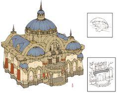 Final Fantasy XIV:  Brick Housing