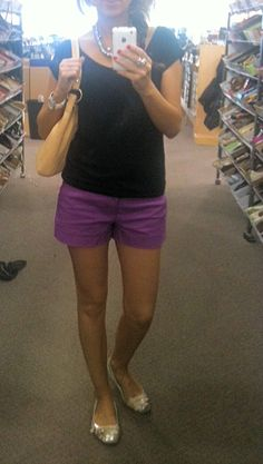 Love the shorts! Colorful and not super short
