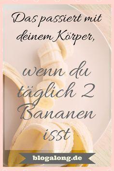 Das passiert mit deinem Körper, wenn du täglich 2 Bananen isst #obst #verstopfung #sodbrennen