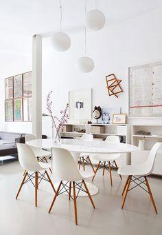 Design | ombiaiinterijeri Saarinen Tulip table, Eero Saarinen for Knoll International