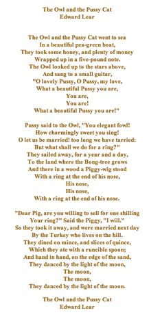 I Still Remember This Poem From When My Dad Made Me Memorize It Was