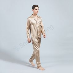 Silk Pajamas TZ-6 for Men (12)   http://www.snowbedding.com/ Silk sleepwears are all made of 100% pure long stranded mulberry silk fabric, featuring a variety of colors and styles, fashionable designs, customization available if required.