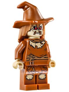 BrickLink - Minifig sh275 : Lego Scarecrow (76054) [Super Heroes:Batman II] - BrickLink Reference Catalog
