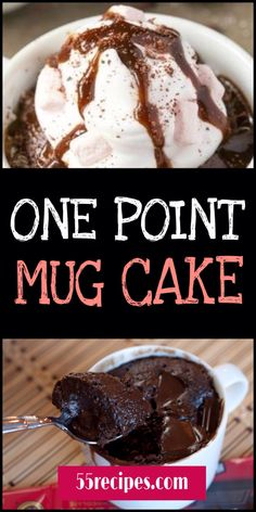 a super indulgent low fat chocolate mug cake recipe, to cheat on your diet without cheating! Weight Watchers Brownies, Weight Watcher Desserts, Weight Watchers Snacks, Weight Watcher Mug Cake, Weight Watchers Kuchen, Plats Weight Watchers, Weigh Watchers, Weight Loss, Weight Watcher Recipes