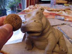Modelage (avec tutoriel) d' un hippopotame