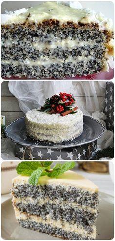 Изумительный пирог «Блаженство». Для любителей выпечки с маком! - interesno.win Cooking Beets In Oven, Meat Cooking Times, Cooking Recipes, Sweet Recipes, Cake Recipes, Dessert Recipes, Sweets Cake, Cookie Desserts, Delicious Desserts