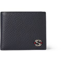 Gucci Ace Leather Billfold Wallet   MR PORTER