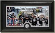 Los Angeles Kings Victory Parade Framed Picture