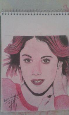 Desenho da Violetta