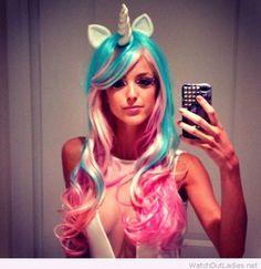 Fab unicorn costume. I want it