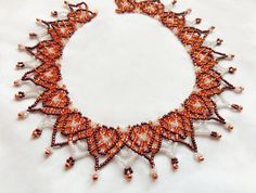 Free pattern for necklace Sahara Click on link to get pattern - http://beadsmagic.com/?p=4840