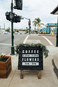 Since we spend so much time in San Diego, we get so excited anytime an awesome, gorgeous coffee shop opens! Communal Coffee is new to North Park, in a joint store with the Native Poppy flower shop! Coffee + Flowers, so perfect. Communal Coffee serves Sightglass Coffee from San Francisco, a