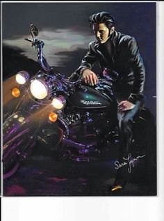 Elvis Presley is one of those names that pretty much everyone in the western world has heard of. Born on January Elvis became one of the most Lisa Marie Presley, Bruce Lee, Mississippi, David Mann Art, Are You Lonesome Tonight, Elvis Presley Pictures, Young Elvis, Motorcycle Art, Graceland
