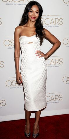 Zoe Saldana - Look of the Day - InStyle - Representing Dominicans very well.