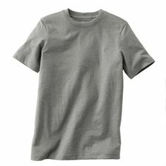 $6.99 color: medium gray heather, size: M Urban Pipeline Heathered Crew Tee - Boys 8-20