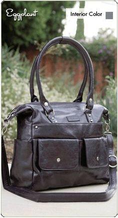 Namaste Harlow Handbag Shoulder Bag Eggplant « Clothing Impulse