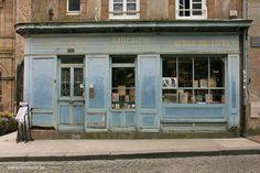 Old bookstore, Saint Malo, France - digital photography, Marion Birkholz