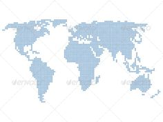 Lisa swansonu lisaswansonu on pinterest world map graphicriver world map formed by stars vector illustration created 4february12 gumiabroncs Choice Image