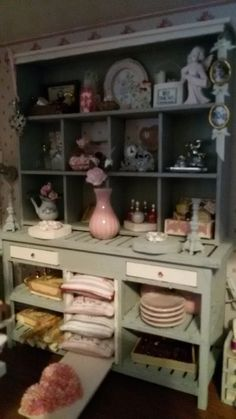 Kast met veel spulletjes