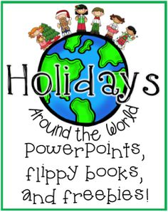 Christmas Around the World Research Freebie!