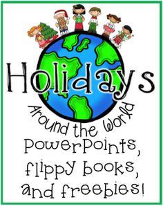Christmas Around the World Research Freebie!