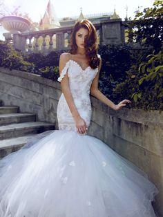 Lauren Elaine Bridal Wisteria Gown