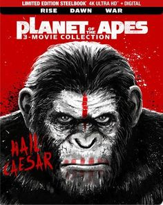 Shop Planet of the Apes Collection [SteelBook] Ultra HD Blu-ray] [Only @ Best Buy] at Best Buy. Find low everyday prices and buy online for delivery or in-store pick-up. Dawn Of The Planet, Planet Of The Apes, Jason Clarke, Matt Reeves, John Lithgow, Concept Art Gallery, Motion Capture, 3 Movie, Gary Oldman