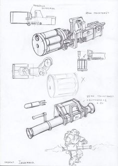 heavy weapons 4 by TugoDoomER on DeviantArt Sci Fi Armor, Sci Fi Weapons, Weapon Concept Art, Weapons Guns, Fantasy Weapons, Steampunk Weapons, Future Weapons, Cool Guns, Dieselpunk