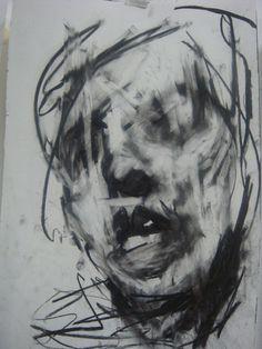 charcoal artist studio   Saatchi Online