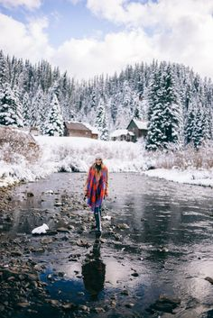 """""""I love winter dressing. Being able to add layers allows me to get more creative with colors and patterns rather than just wearing a simple dress in the summer."""""""