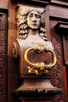 https://flic.kr/p/p6Ps34   Door detail   Český Krumlov