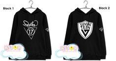 (vía Seventeen 17 Hoodie · K-STAR · Online Store Powered by Storenvy)