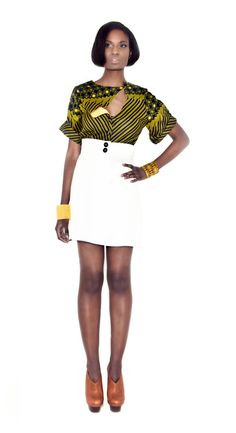 Very stylish and comfortable shirt - Front drape feature - Lined with contrasting cotton - Cover buttons - Rolled up sleeves. #Africanfashion #AfricanWeddings #Africanprints #Ethnicprints #Africanwomen #africanTradition #AfricanArt #AfricanStyle #Kitenge #AfricanBeads #Gele #Kente #Ankara #Nigerianfashion #Ghanaianfashion #Kenyanfashion #Burundifashion #senegalesefashion #Swahilifashion ~DK