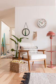 Erin Barrett of Sunwoven's Home studio space in Charleston   west elm