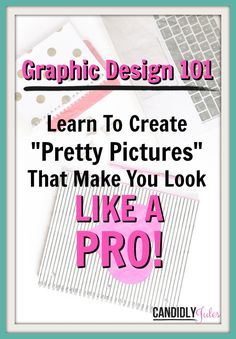 "In Graphic Design 101, I'll show you the difference proper composition can make in your images, the tools you can use to design your own professional looking graphics, and even walk you through how to use those tools to make eye catching images that get clicked! We'll be talking colors, fonts, layout, and even where to find the best free stock photo online when you're ""photographically challenged"" like I am! Wanna see what's inside? >> http://thetank.teachable.com/courses/graphic-design-101"