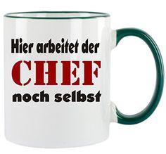 """"""" Hier arbeitet der Chef noch selbst """" Kaffeetasse mit Mo... https://www.amazon.de/dp/B00VK22G8G/ref=cm_sw_r_pi_dp_x_YS9qybR18SSXW"""