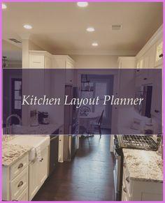 Granite #Kitchen #Layout #Planner...