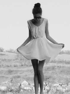 Simple, White Dress