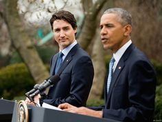 President Obama met with the prime minister of Canada, and expressed pride that both countries have embraced marriage equality.