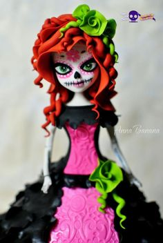 Day of the Dead - Cake by anna_bananna